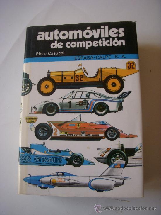 AUTOMOVILES DE COMPETICION (Coches y Motocicletas Antiguas y Clásicas - Catálogos, Publicidad y Libros de mecánica)