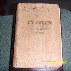 Coches y Motocicletas: AUTOMOVILISMO M.ZEROLO. 1911.. Lote 29210513