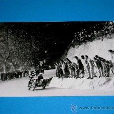 Coches y Motocicletas: FOTO ORIGINAL SIDECAR. XV CARRERA INTERNACIONAL RABASSADA, 27 NOVIEMBRE 1949. Lote 29373572