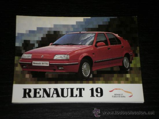 Renault 19 Manual Usuario Original 1990 E Kaufen Kataloge