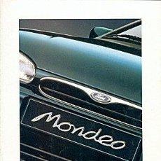 Coches y Motocicletas: FORD MONDEO CATALOGO MARCA. Lote 29765816