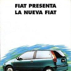 Coches y Motocicletas: FIAT PUNTO CATALOGO MARCA. Lote 29821666