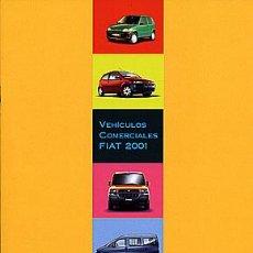 Coches y Motocicletas: FIAT VEHÍCULOS INDUSTRIALES CATALOGO MARCA. Lote 29822226