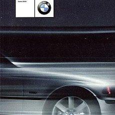 Coches y Motocicletas: BMW GAMA 2000 CATALOGO MARCA. Lote 29930636