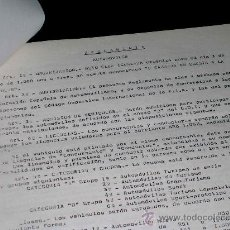 Coches y Motocicletas: REGLAMENTO COMPETICIÓN V CARRERA EN CUESTA A LAS MAYOLAS, MOTO CLUB IGUALADA, 1 MAYO 1968.. Lote 30003299