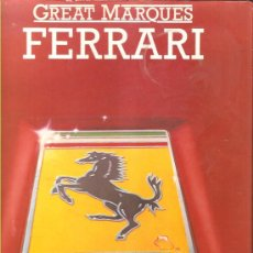 Voitures et Motocyclettes: FERRARI - GREAT MARQUES (1980). Lote 30233472