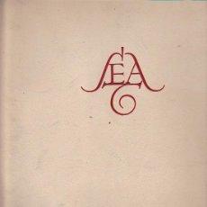 Coches y Motocicletas: LIBRO EDITADO POR SEAT ( SOCIEDAD ESPAÑOLA DE AUTOMOVILES DE TURISMO ) JUNIO 1954. Lote 30370002