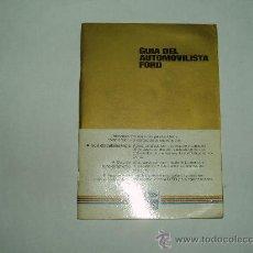 Coches y Motocicletas - GUÍA DEL AUTOMOVILISTA FORD - 53485103