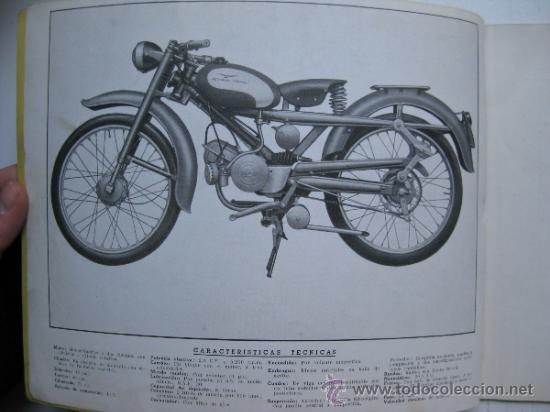 Coches y Motocicletas: CATALOGO DE MOTO GUZZI HISPANIA, CARDELLINO 75 - 1ª EDICION - AÑOS 1960 - Foto 3 - 30735918