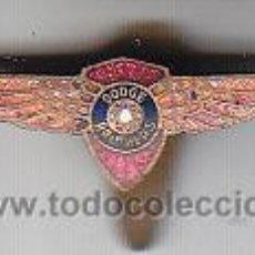 Coches y Motocicletas: ANTIGUA INSIGNIA O PIN AUTOMOBILES DODGE BROTHERS. Lote 31324372