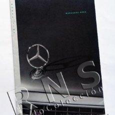 Coches y Motocicletas: CATÁLOGO MERCEDES BENZ 1992 - EN INGLÉS - FOTOS COCHES PUBLICIDAD DESPLEGABLE - COCHE TRANSPORTE. Lote 30829747
