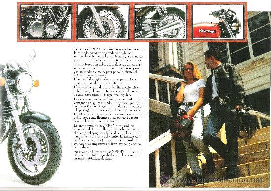 Coches y Motocicletas: catalogo original kawasaki zephyr 750 550 caracteristicas tecnicas - Foto 3 - 30883832