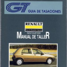 Coches y Motocicletas: MANUAL DE TALLER RENAULT CLIO 1992 TOMOS I-II. Lote 31026340