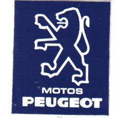 Coches y Motocicletas: PEGATINA MOTOS PEUGEOT - MEDIDAS 7 X 6. Lote 31027368