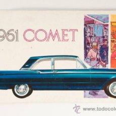 Coches y Motocicletas: CATÁLOGO COCHE 1961 COMET - LINCOLN-MERCURY DIVISION OF FORD MOTOR COMPANY - EN INGLÉS. Lote 31082416