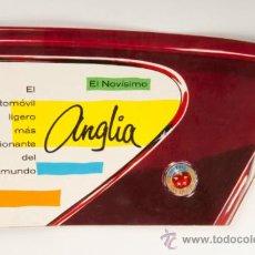 Coches y Motocicletas: CATÁLOGO COCHE FORD ANGLIA - PRODUCTO DE LA FORD MOTOR COMPANY LIMITED. Lote 31094226