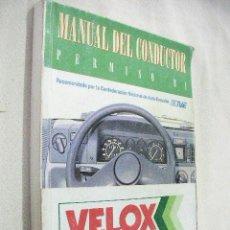 Coches y Motocicletas: MANUAL DEL CONDUCTOR PERMISO B1. Lote 31124447