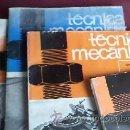 Coches y Motocicletas: TÉCNICAS MECÁNICAS.4 LIBROS DE MECÁNICA MOTOR Y AUTOMÓVIL.1974/75. Lote 31128759
