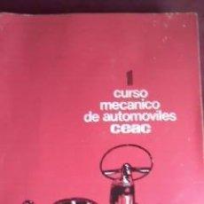 Coches y Motocicletas: CURSO MECÁNICO DE AUTOMÓVILES CEAC 1974.INCLUYE INDICE DEL CURSO.. Lote 31128810