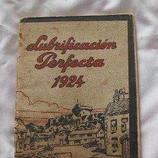 Coches y Motocicletas: LUBRIFICANTES MOBILOIL ACEITE COCHES BARCELONA 1924. Lote 31296215