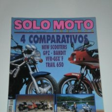 Coches y Motocicletas: SOLO MOTO 30 Nº103 - HONDA VFR 750 F / SUZUKI GSX 750 F / KAWASAKI GPZ 400 FII / SUZUKI BANDIT 400. Lote 31394451