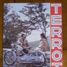 Coches y Motocicletas: CATALOGO ORIGINAL TERROT VELOMOTOR 100 CC. Lote 31588310