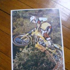 Coches y Motocicletas: REPRODUCCION POSTER OSSA EN TAMAÑO A4. Lote 31590957