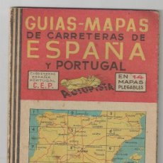 Coches y Motocicletas: MAPA DE CARRETERAS AUTOPISTA Nº 6 AÑOS 40 . Lote 31770426