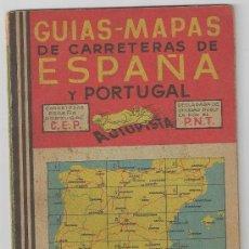 Coches y Motocicletas: MAPA DE CARRETERAS AUTOPISTA Nº 12 AÑOS 1940 . Lote 31770439