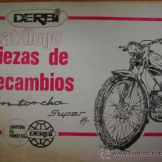 Coches y Motocicletas: CATALOGO PIEZAS DE RECAMBIO DERBI ANTORCHA SUPER 49. Lote 105405911