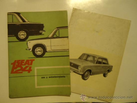 SEAT 124 Y 124 L USO Y ENTRETENIMIENTO 1970 INSTRUCCIONES (Coches y Motocicletas Antiguas y Clásicas - Catálogos, Publicidad y Libros de mecánica)