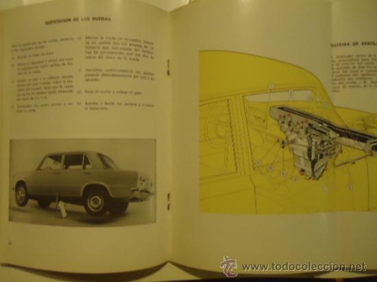Coches y Motocicletas: SEAT 124 Y 124 L USO Y ENTRETENIMIENTO 1970 INSTRUCCIONES - Foto 3 - 31865321