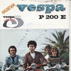 Coches y Motocicletas: CATÁLOGO PUBLICITARIO VESPA P 200 E. . Lote 31831984