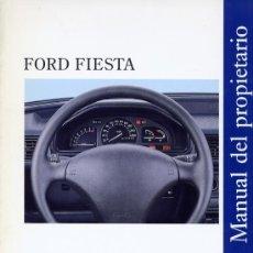 Coches y Motocicletas: FORD FIESTA-MANUAL DEL PROPIETARIO-1995 ESPAÑOL. Lote 31835389