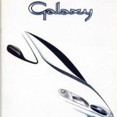 Coches y Motocicletas: FORD GALAXY -CATALOGO PUBLICITARIO ORIGINAL-. Lote 31839011