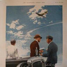 Coches y Motocicletas: PUBLICIDAD - DAIMLER - AÑO 1943 - MEDIDAS 37 X 26 CM.APROX.. Lote 31924250