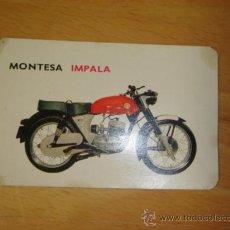 Coches y Motocicletas: FICHA TECNICA ORIGINAL BOLSILLO MONTESA IMPALA 175. Lote 31863304