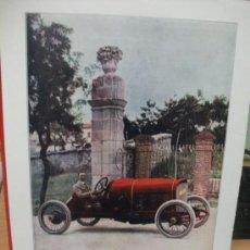 Coches y Motocicletas: + AUTOMOVIL ABADAL BUICK. MADRID GRAN TAMAÑO 27 X 36 CM. RECORTE DE REVISTA. AÑO 1917. Lote 31977538