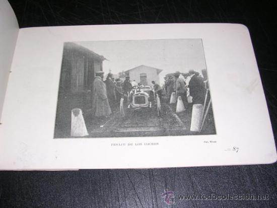 Coches y Motocicletas: COCHES - COPA BARCELONA , PROGRAMA OFICIAL 1911 CAMPEONATO ESPAÑOL DE AMATEURS, COPA DEL REY - Foto 5 - 32179490