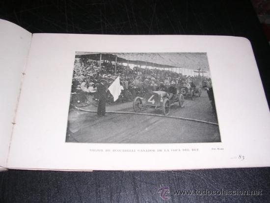 Coches y Motocicletas: COCHES - COPA BARCELONA , PROGRAMA OFICIAL 1911 CAMPEONATO ESPAÑOL DE AMATEURS, COPA DEL REY - Foto 7 - 32179490