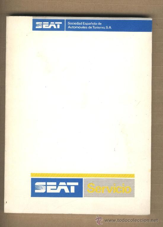 SEAT SERVICIO. RED DE CONCESIONARIOS Y TALLERES. 1987. 17 MAPAS. (Coches y Motocicletas Antiguas y Clásicas - Catálogos, Publicidad y Libros de mecánica)