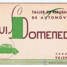 Coches y Motocicletas: LUIS DOMENECH TALLER REPARACION AUTOMOVILES VALENCIA. Lote 32663886
