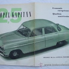 Folleto Publicidad : OPEL KAPITÄN 2.5. GENERAL MOTORS