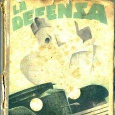 Coches y Motocicletas: F. SALMERÓN : LA DEFENSA DEL CONDUCTOR (BASTINOS, 1929). Lote 32887144
