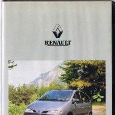 Coches y Motocicletas: CINTA VHS - RENAULT - PUBLICIDAD SCÉNIC. Lote 32982346