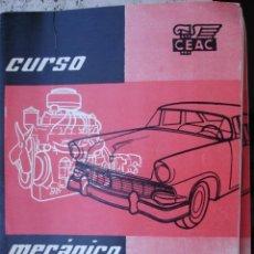 Coches y Motocicletas: CURSO MECANICO AUTOMOVILES CEAC.1958.24 FASCICULOS+ INDICE FALTA EL Nº 12. Lote 33028487