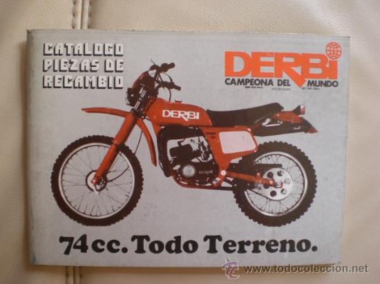 Cat logo piezas recambio derbi tt 74 cms orgin comprar for Catalogo derbi
