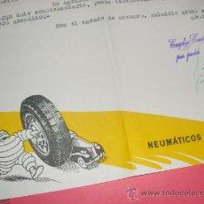 Coches y Motocicletas: NEUMATICOS MICHELIN. TALLERES COSTAN, UBEDA Y CORDOBA.. Lote 56524175