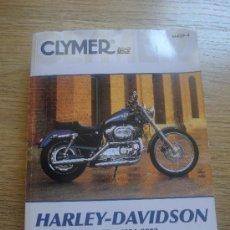 Coches y Motocicletas: LIBRO DE MECANICA CLYMER HARLEY DAVIDSON SPORTSTER 1991-2003 EN INGLES. Lote 33368086
