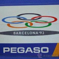 Coches y Motocicletas: PEGATINA PEGASO- ENASA DE BARCELONA 92. Lote 47154157